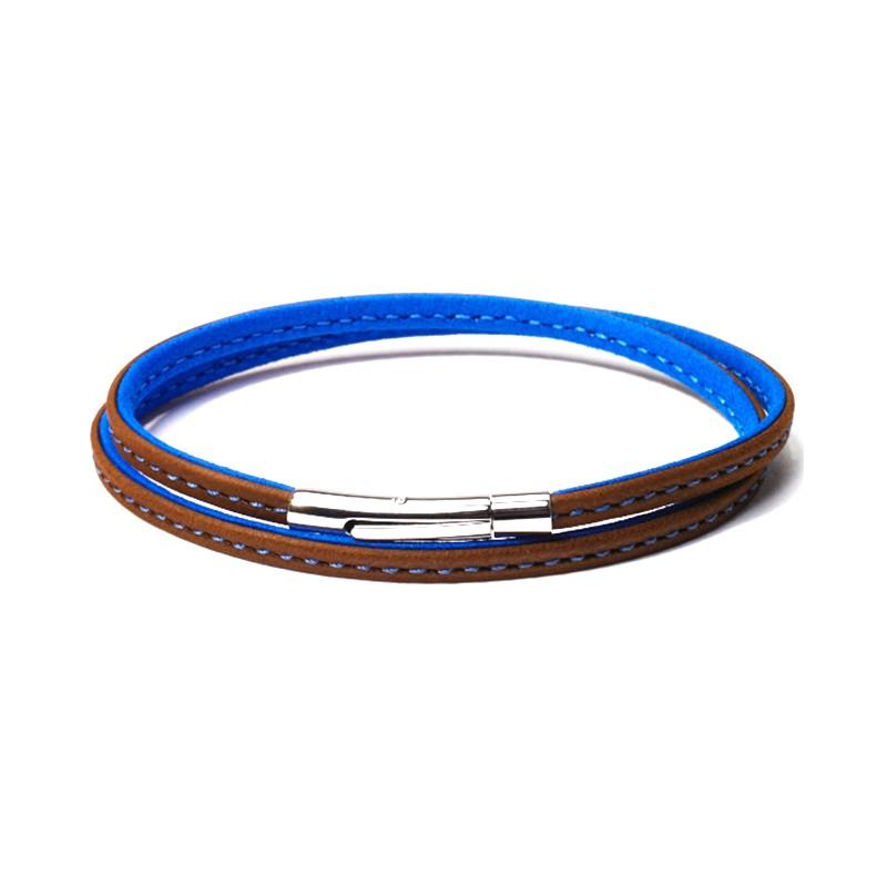 Bracelet Colibri Marron Bleu