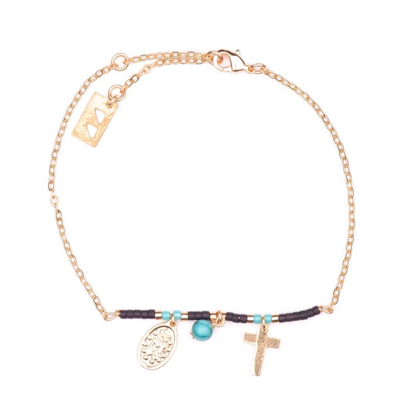 Bracelet Like a Prayer Noir