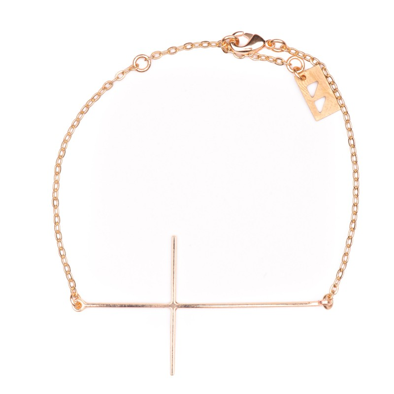 Bracelet doré Like a Prayer