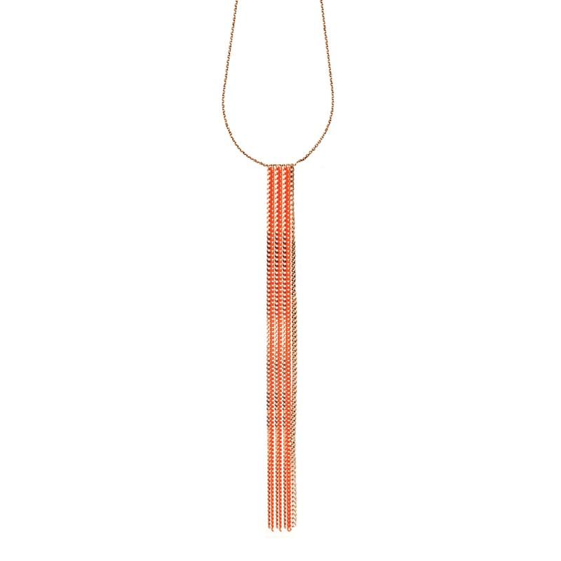 Collier Cravate Chains Vermeil