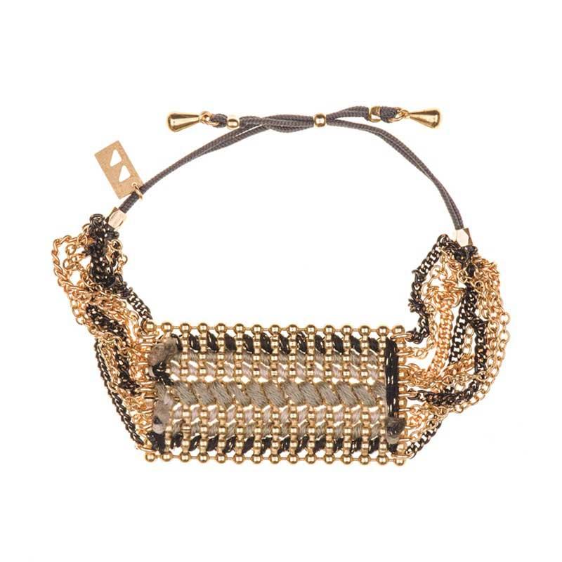Bracelet Yucatan Large Noir
