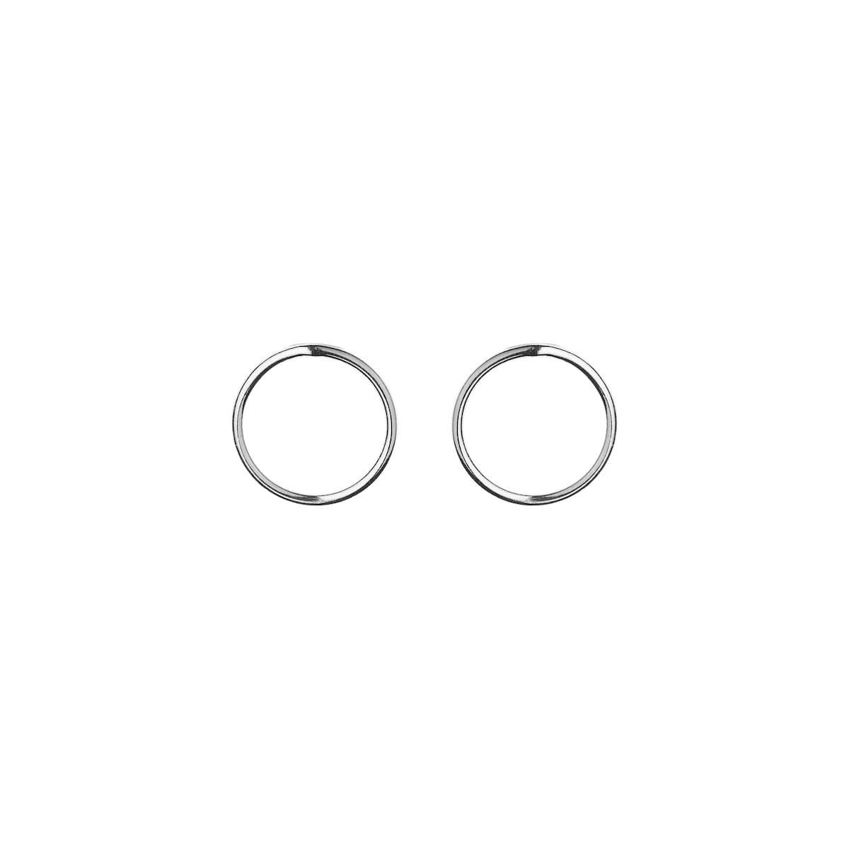 Boucles Small Circle Argent