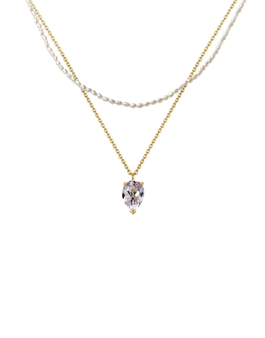 Collier Bloom Perles & Améthyste