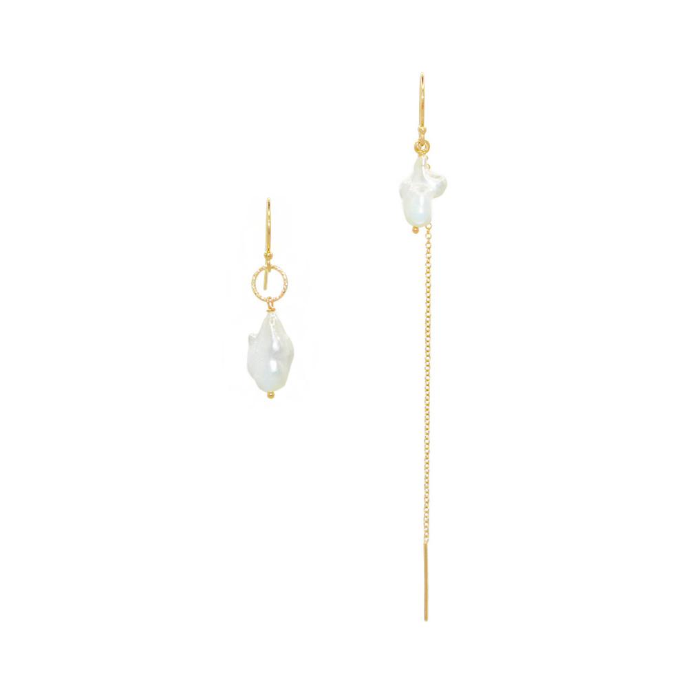 Boucles Asymétriques Perles