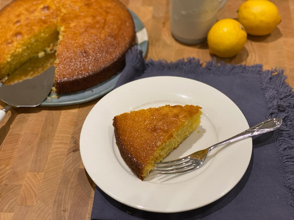 Lemon and Polenta Cake