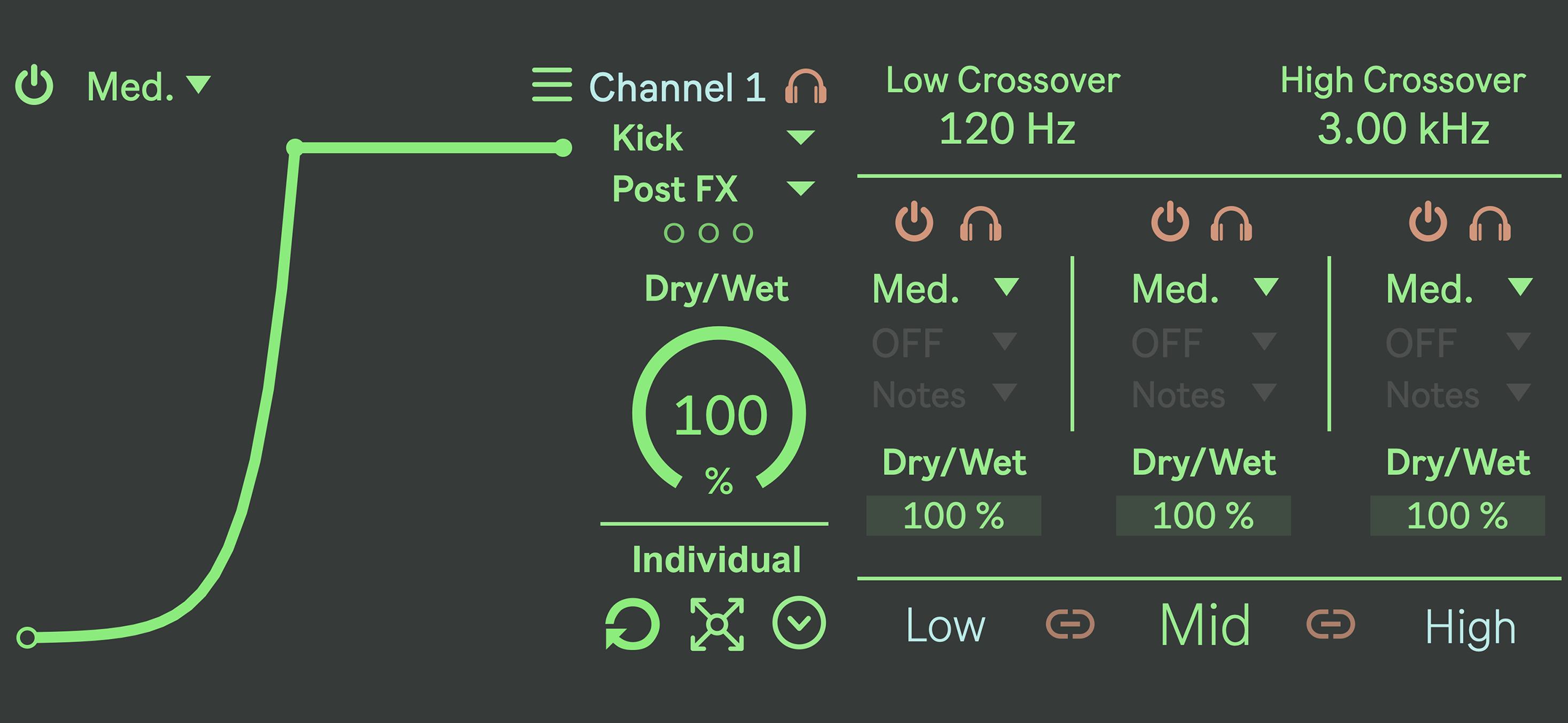 The cleanest and most intuitive sidechain utility ever made.