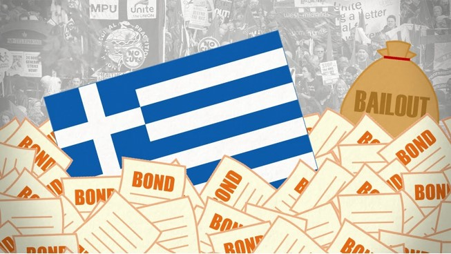 Greece debt crisis caused by complex global economic relationships