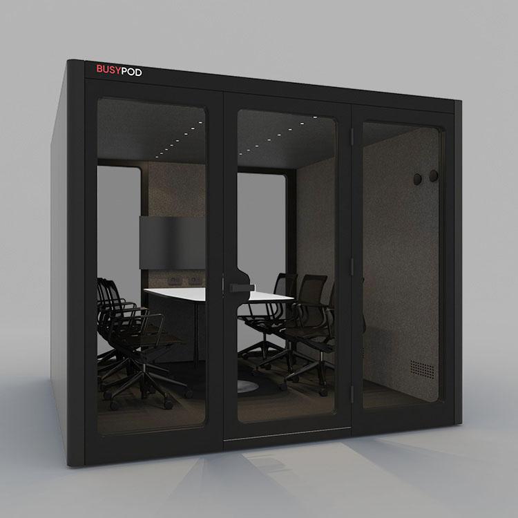 BUSYPOD XLarge, Black sides, Black Lacquer frame