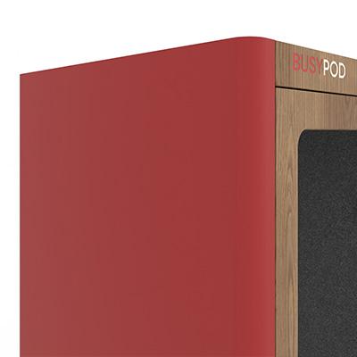 BUSYPOD Red sides, Oak frame