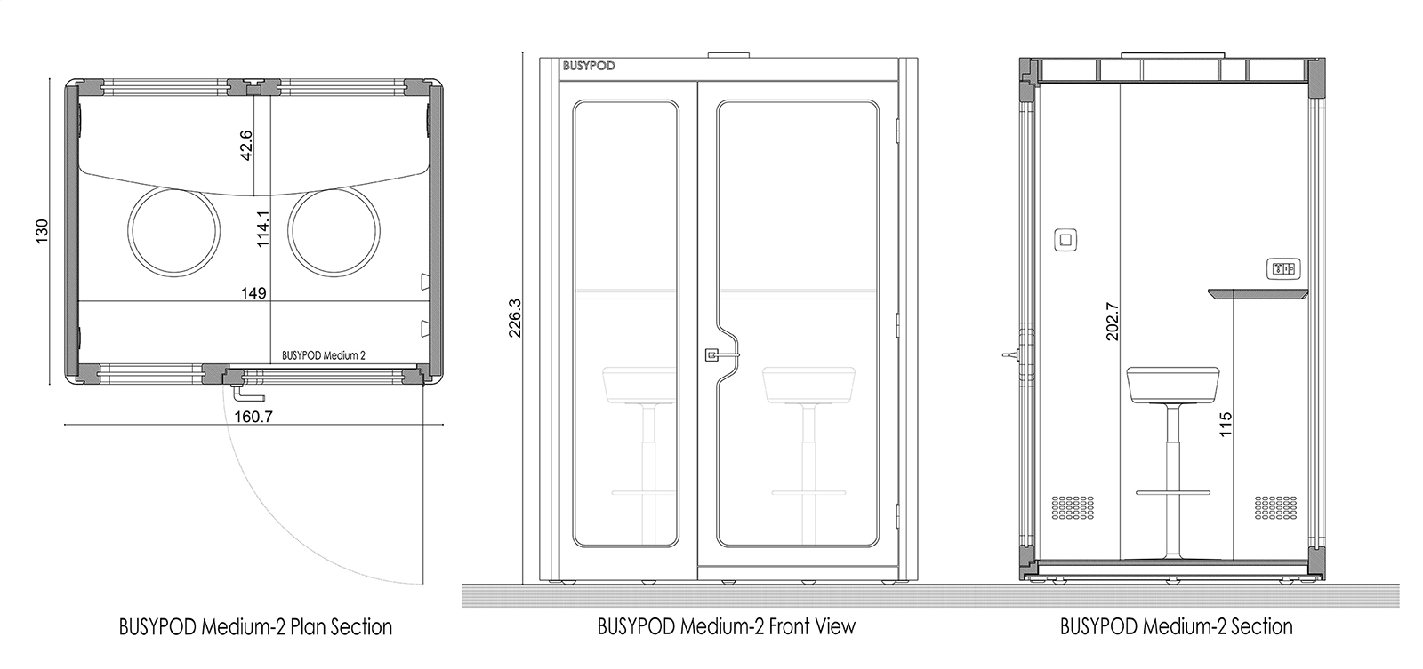 BUSYPOD Medium Meet Diagram