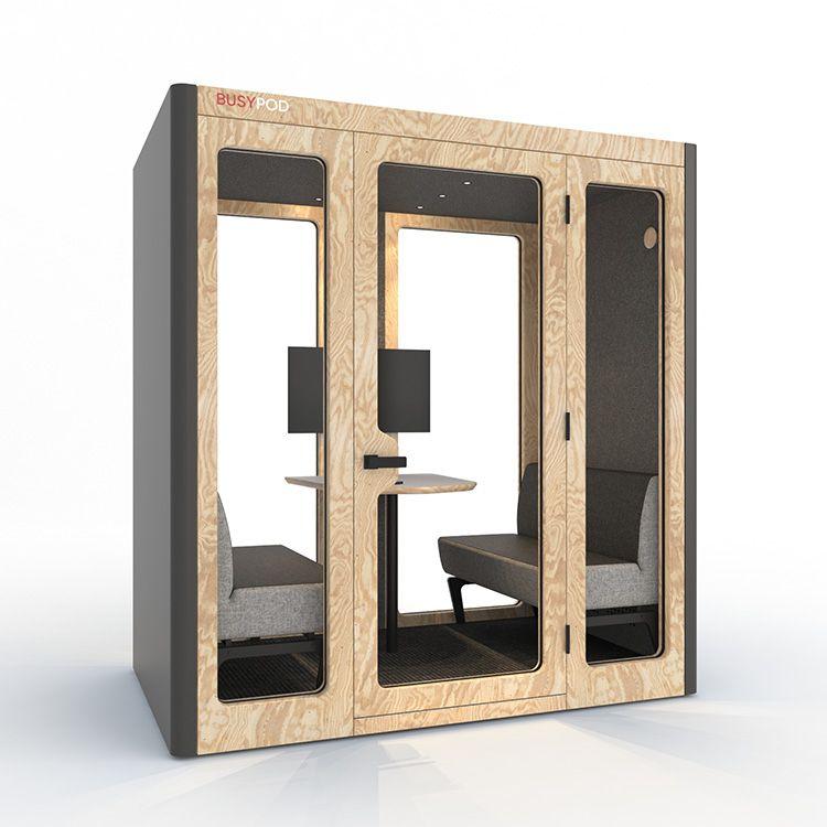 BUSYPOD Large, Gray sides, Pine frame