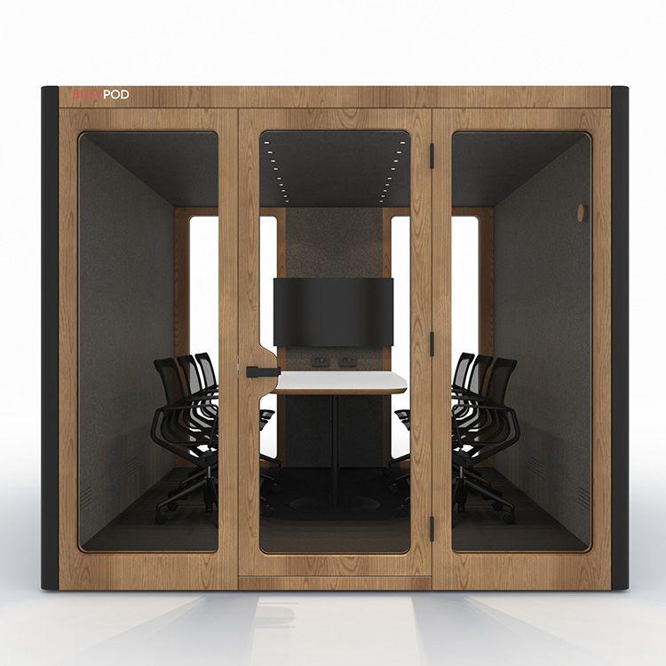 BUSYPOD XLarge, Black sides, Oak frame