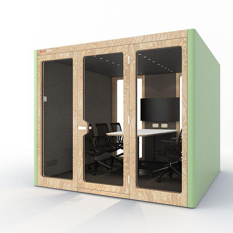 BUSYPOD XLarge, Green sides, Pine frame