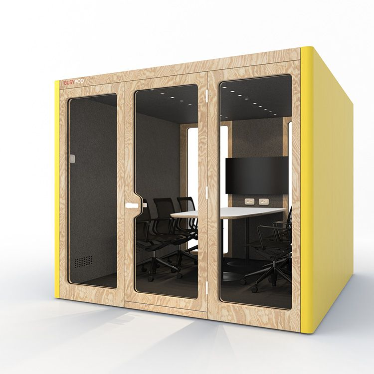 BUSYPOD XLarge, Yellow sides, Pine frame