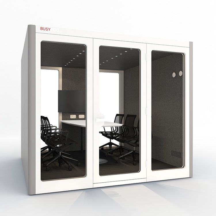 BUSYPOD XLarge, Grey sides, White Lacquer frame