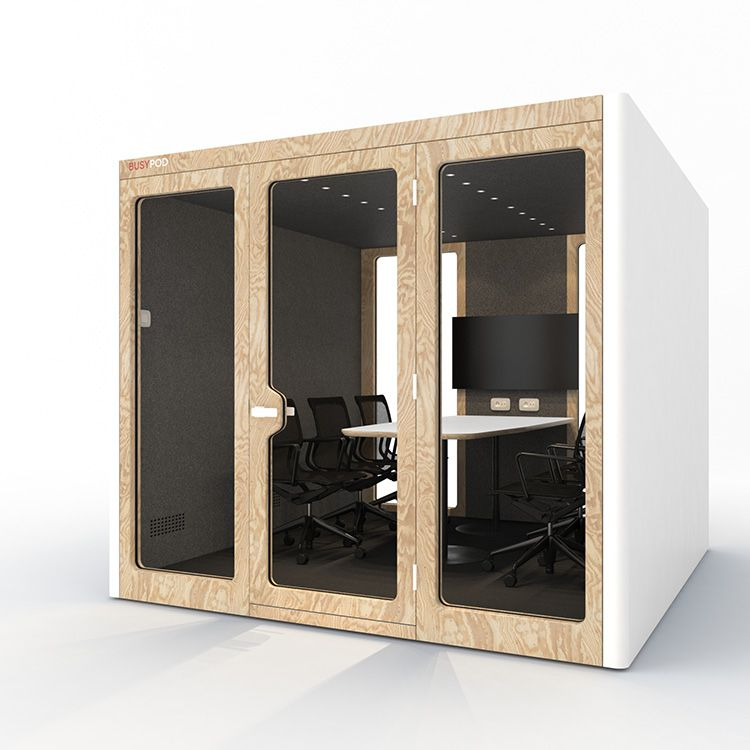BUSYPOD XLarge, White sides, Pine frame
