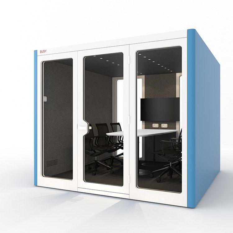 BUSYPOD XLarge, Blue sides, White Lacquer  frame