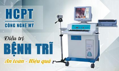 Phương pháp HCPTII điều trị bệnh trĩ hiệu quả