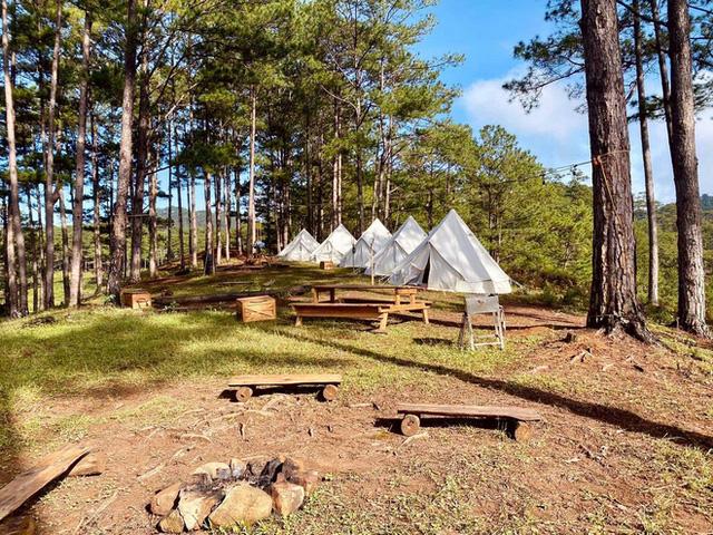 """Tất tần tật về cắm trại sang chảnh - trào lưu """"ngủ lều"""" đang hot nhất Đà Lạt, loạt sao Vbiz cũng phải mê tít - Ảnh 9."""
