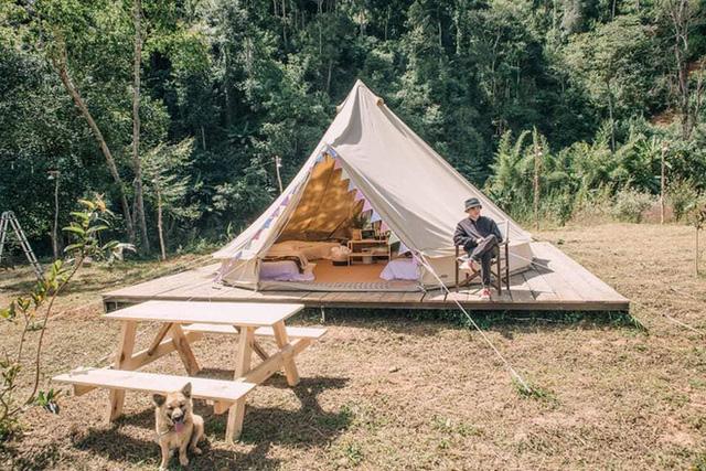 """Tất tần tật về cắm trại sang chảnh - trào lưu """"ngủ lều"""" đang hot nhất Đà Lạt, loạt sao Vbiz cũng phải mê tít - Ảnh 18."""