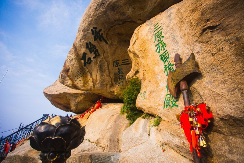 Khám phá Hoa Sơn - ngọn núi nguy hiểm nhất Thế giới - 3
