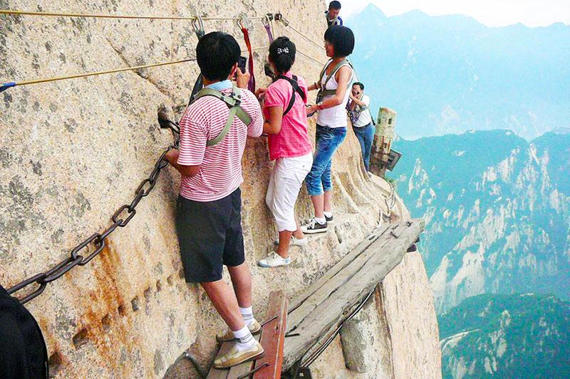 Khám phá Hoa Sơn - ngọn núi nguy hiểm nhất Thế giới - 7