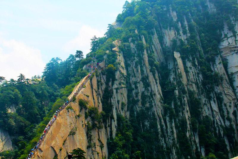 Khám phá Hoa Sơn - ngọn núi nguy hiểm nhất Thế giới - 8