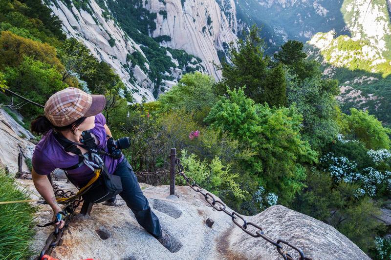 Khám phá Hoa Sơn - ngọn núi nguy hiểm nhất Thế giới - 14