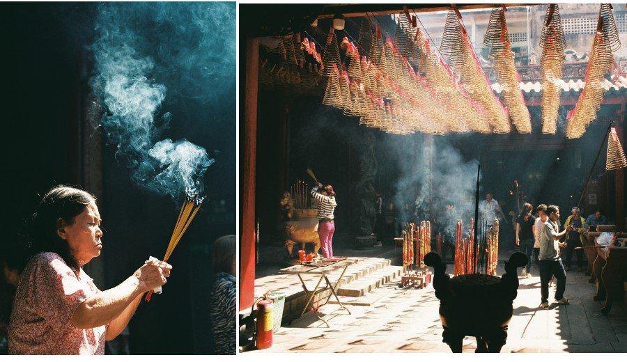 Chùa vừa là nơi linh thiêng thờ phụng và là nơi tham quan cho du khách