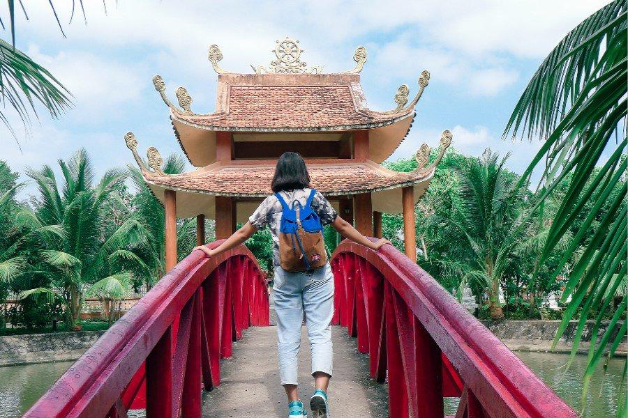 Khuôn viên rộng lớn của Thiền viện Trúc Lâm Phương Nam