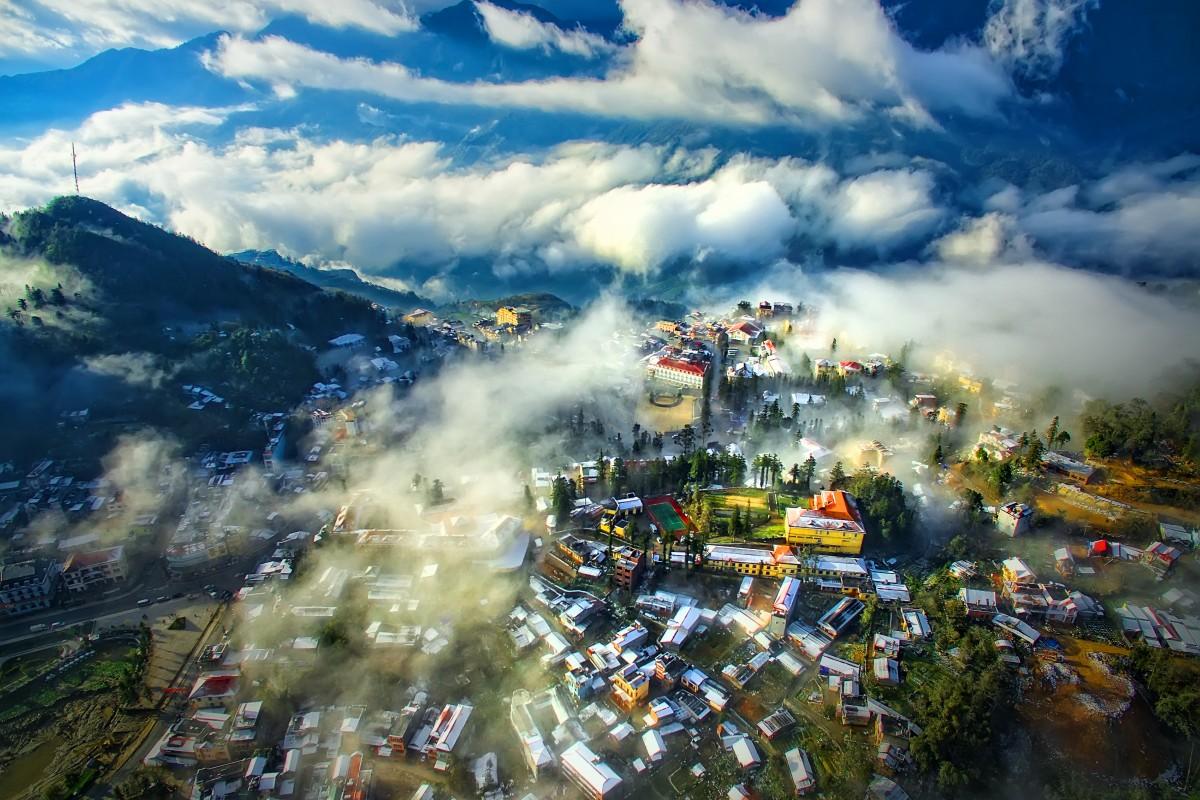 du lịch sapa và mây