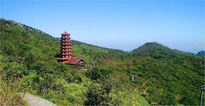 Cảnh đẹp núi Yên Tử