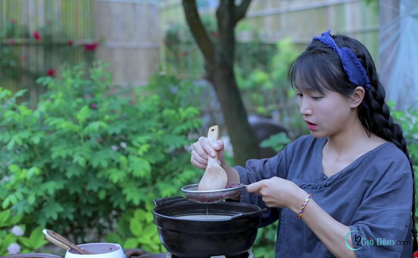 Youtuber Lý Tử Thất tiên nữ đồng quê Trung Quốc - Ảnh 2