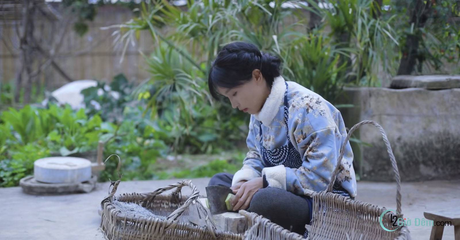 Youtuber Lý Tử Thất tiên nữ đồng quê Trung Quốc - Ảnh 5