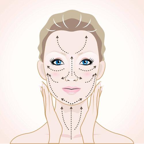massage mặt đúng cách ngăn ngừa chảy xệ
