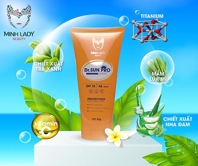 Kem chống nắng Dr Sun Pro – Bí quyết lưu giữ nét thanh xuân ngọt ngào - 3