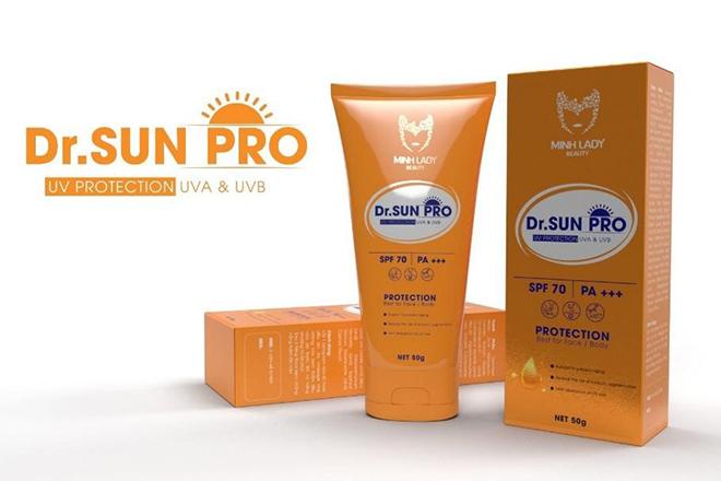 Kem chống nắng Dr Sun Pro – Bí quyết lưu giữ nét thanh xuân ngọt ngào - 2