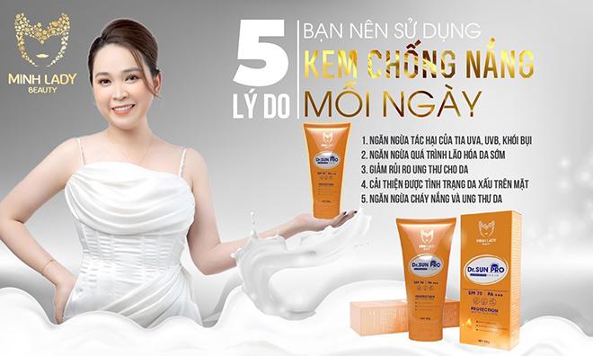Kem chống nắng Dr Sun Pro – Bí quyết lưu giữ nét thanh xuân ngọt ngào - 1