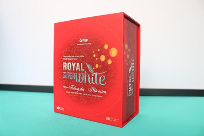 Royal Super White – Soán ngôi viên uống trắng da - 4