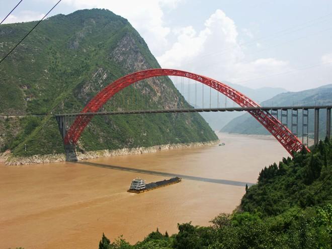 Cận cảnh sông trường giang dài nhất trung quốc - 4