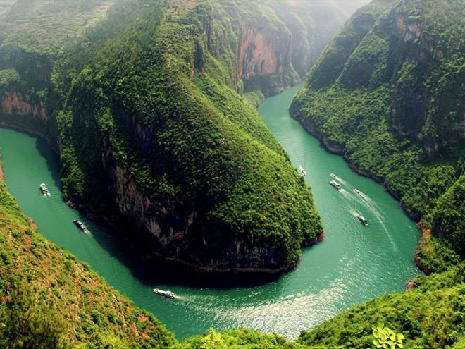 Cận cảnh sông trường giang dài nhất trung quốc - 1