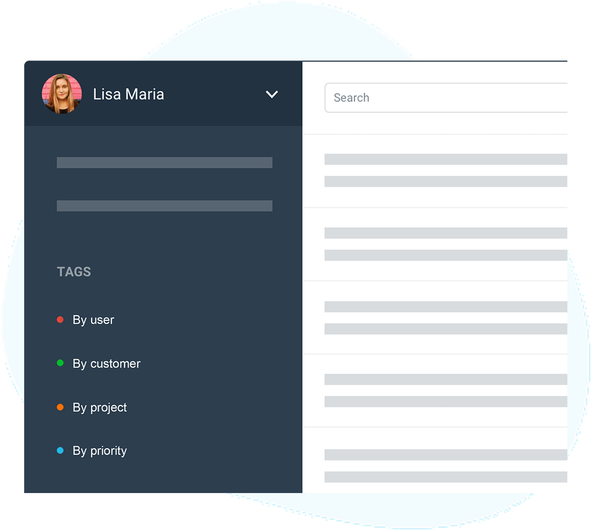 Email management: shared inboxes list