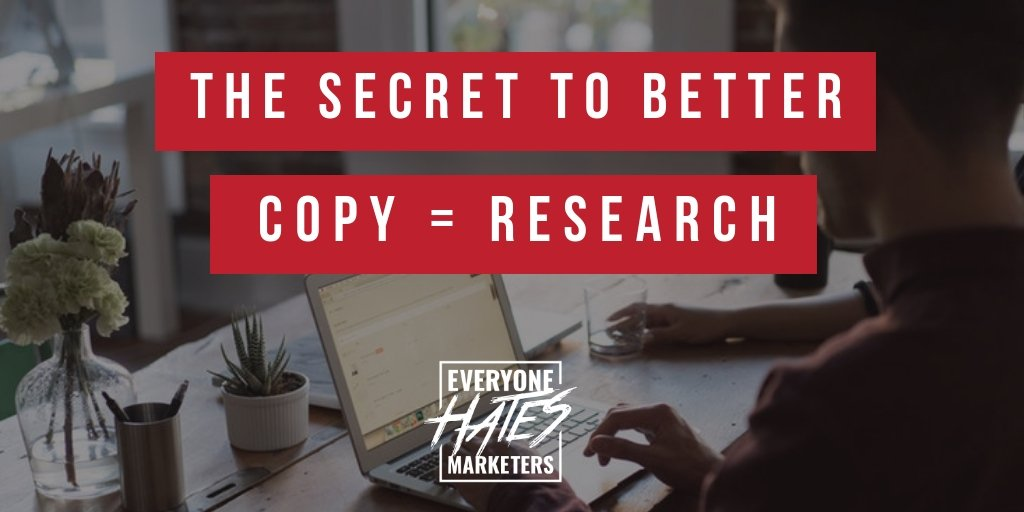 How to Write Better Copy = Research