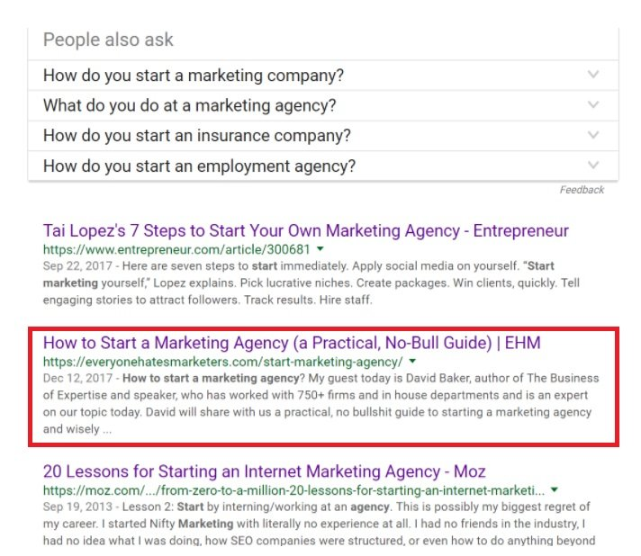 How to Start a Marketing Agency - in Google