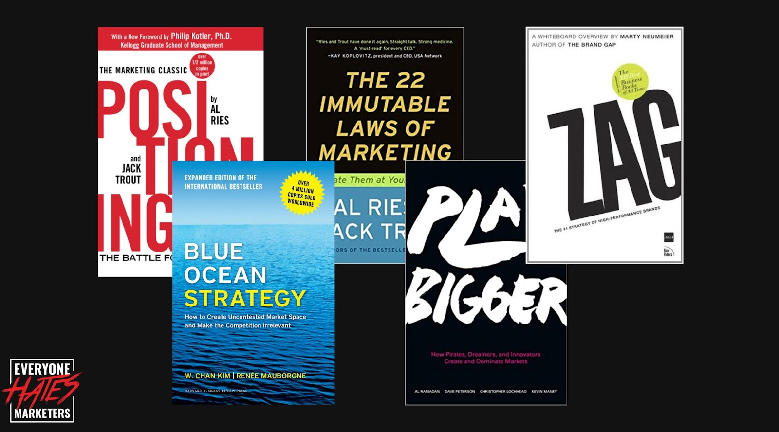 Books that talk about category creation