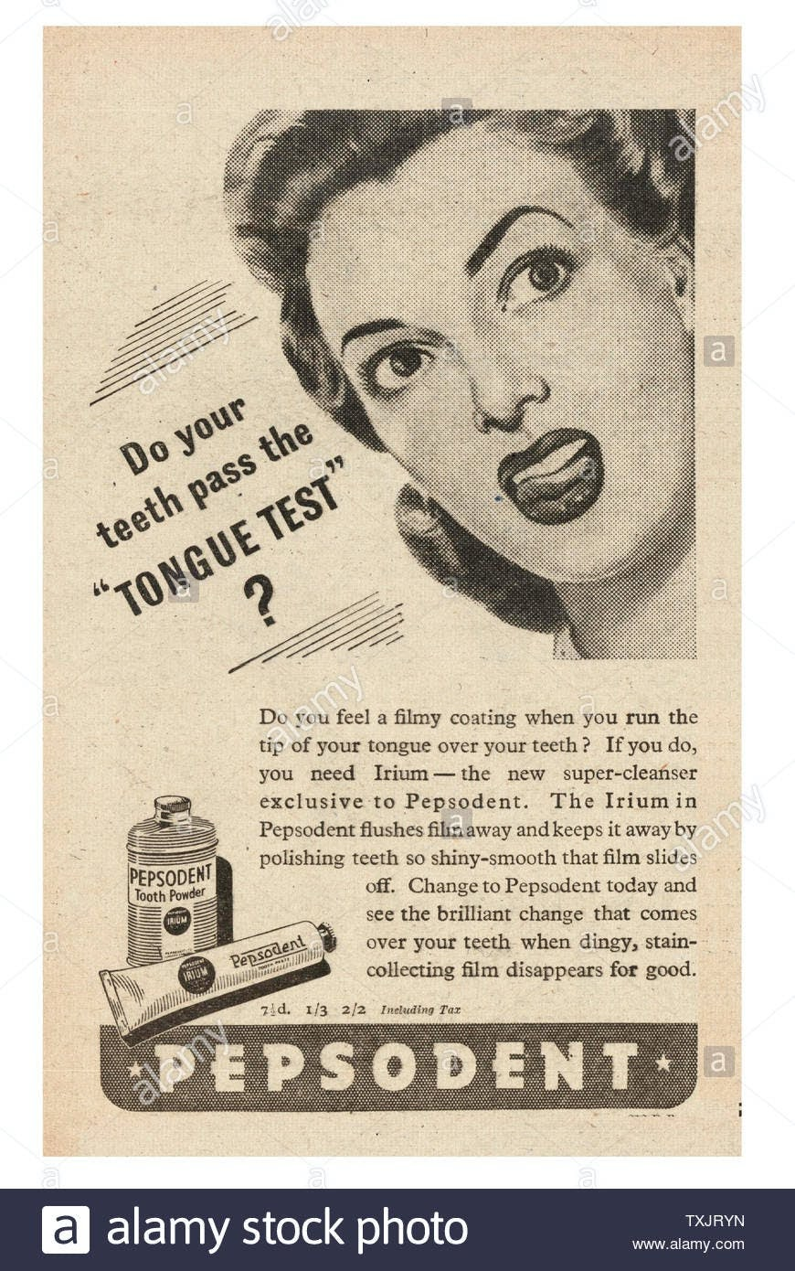 Pepsodent didn't create a new category. They differentiated toothpaste.