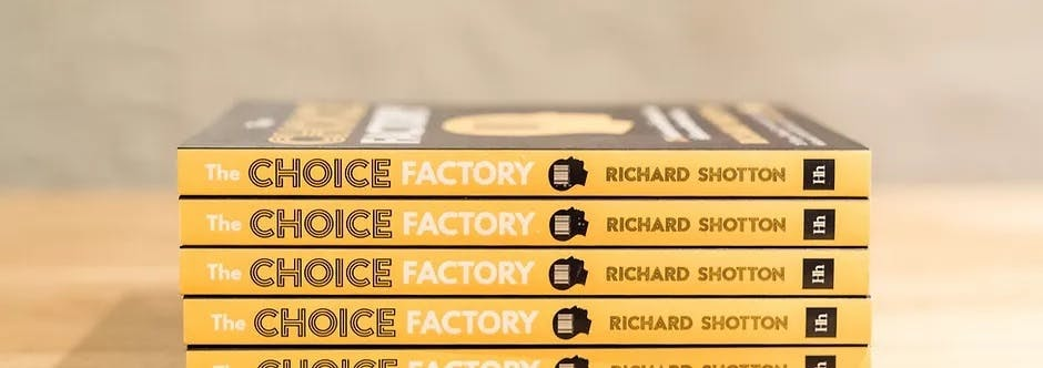 The Choice Factory book explains how the pratfall effect builds trust with customers