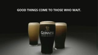 Guiness is an example of how to stand out from competitors using the pratfall effect