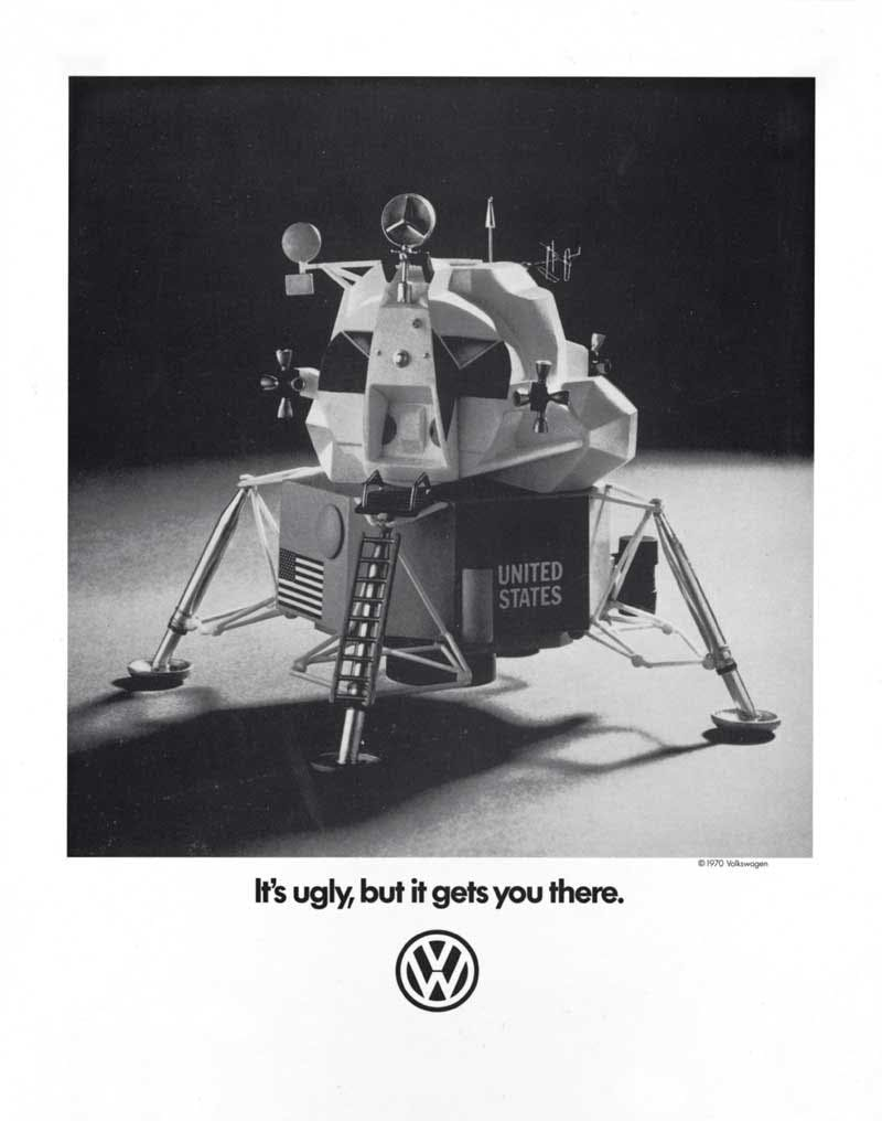 Volkswagen is an example of how to stand out from competitors using the pratfall effect