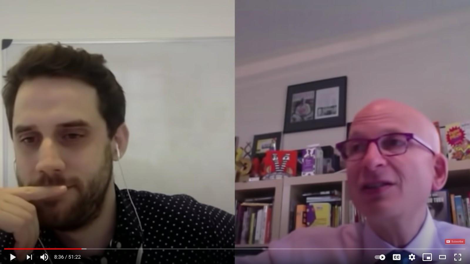 Seth Godin on how marketing goes much deeper than communications